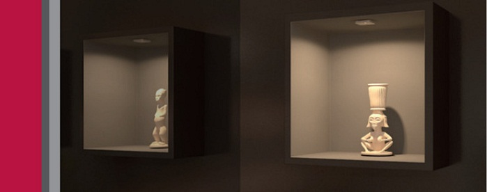 Cabinet Downlight by Hafele