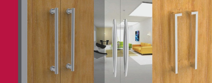 Pull Handles For Wooden Doors And Glass Doors By Hafele India