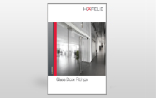 Glass Fittings by Hafele