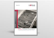 Ergo Fit Drawer Organisers by Hafele